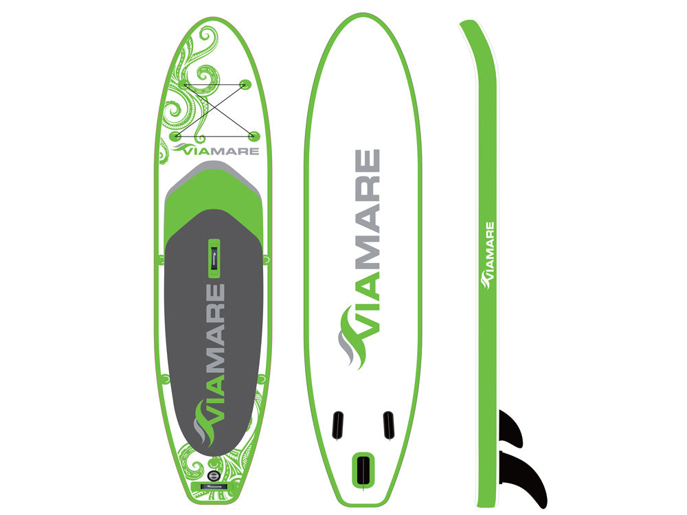 SUP Stand up Paddle Board VIAMARE 365 Octopus green