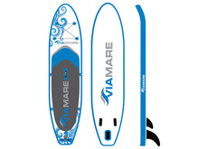 Lade das Bild in den Galerie-Viewer, SUP Stand up Paddle Board Set VIAMARE 330 S Octopus blue