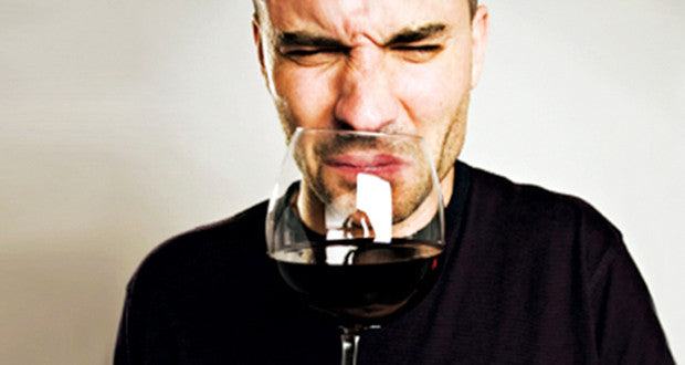why wine has bad odour