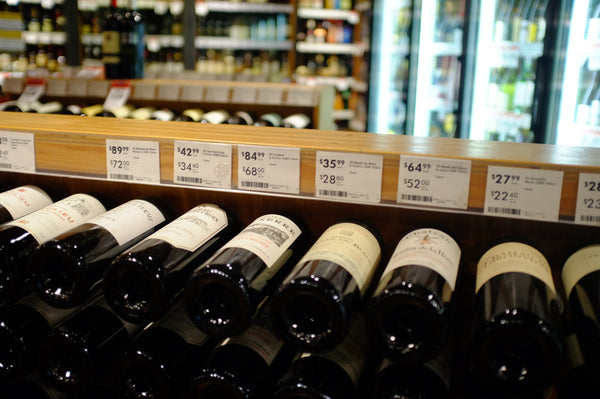 Bordeaux wine on sale