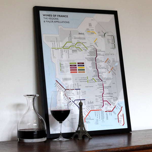 De Long Metro Wine Map