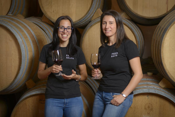 Pares Balta Winemakers ;Maria Elena Jimenez and Marta Casas