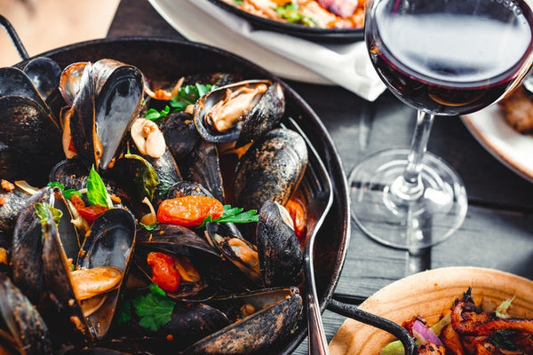 Spanish Seafood and Wine Pairings