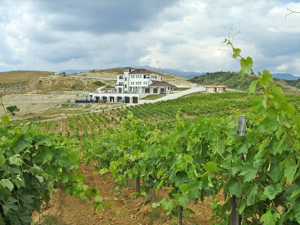 Villa Melnik Winery in Bulgaria