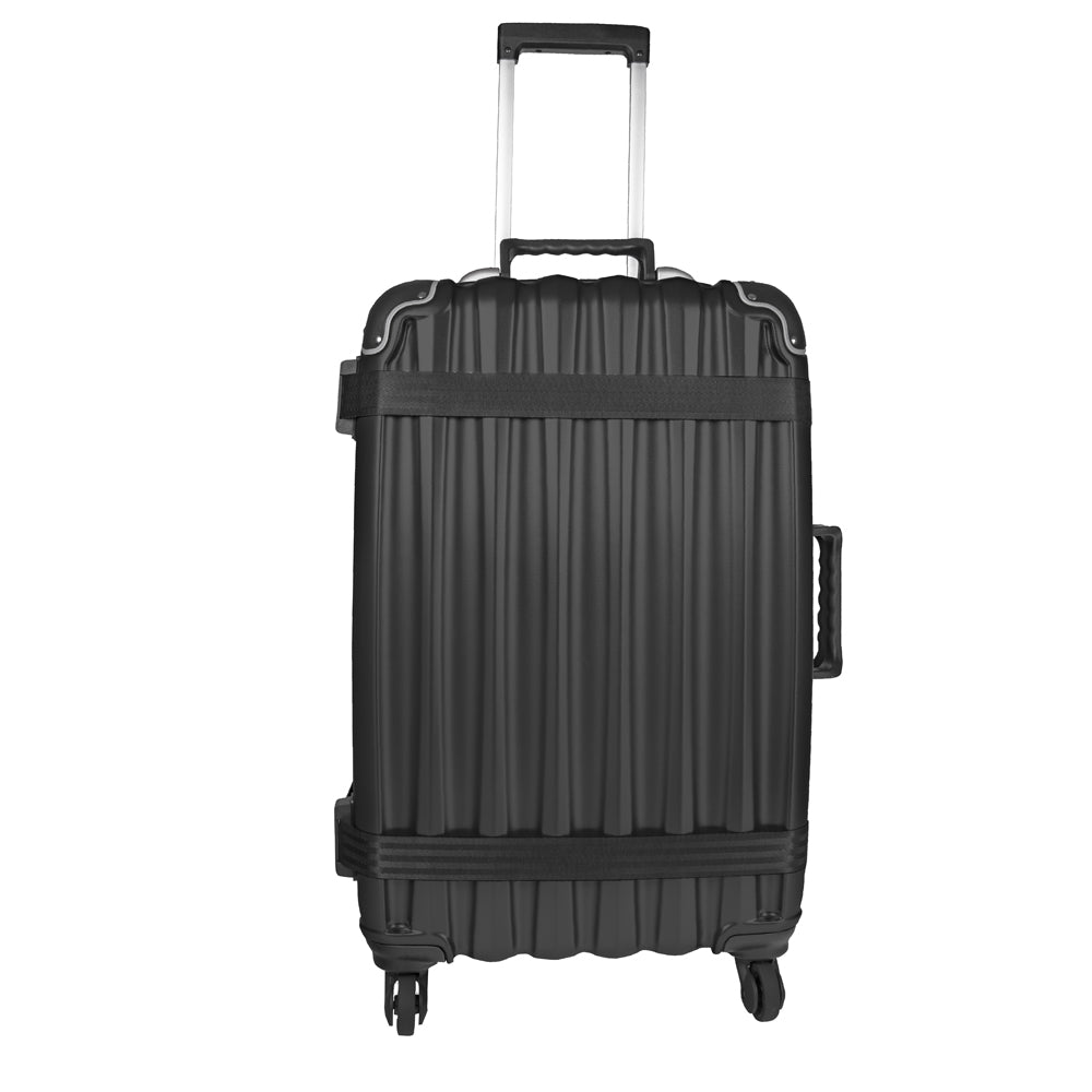 VingardeValise 05 Grande 12 Bottles Hardshell Wine Suitcase Black, Airline & TSA compliant - 10 YEARS MANUFACTURER WARRANTY