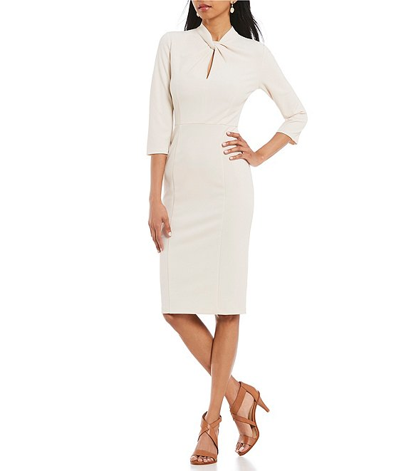 Donna Morgan Twist Front Dress