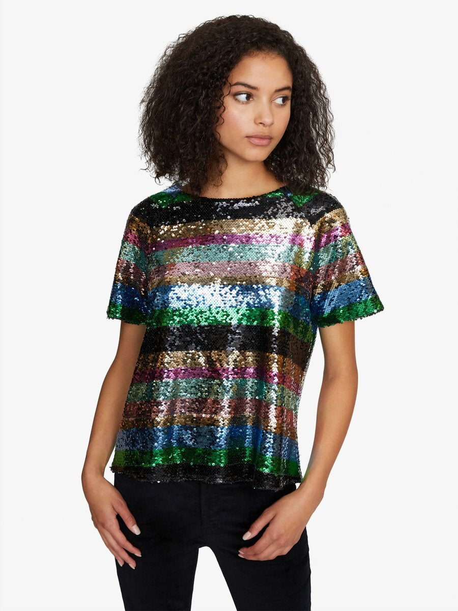 Sanctuary Clothing Saturday Night Sequin Top