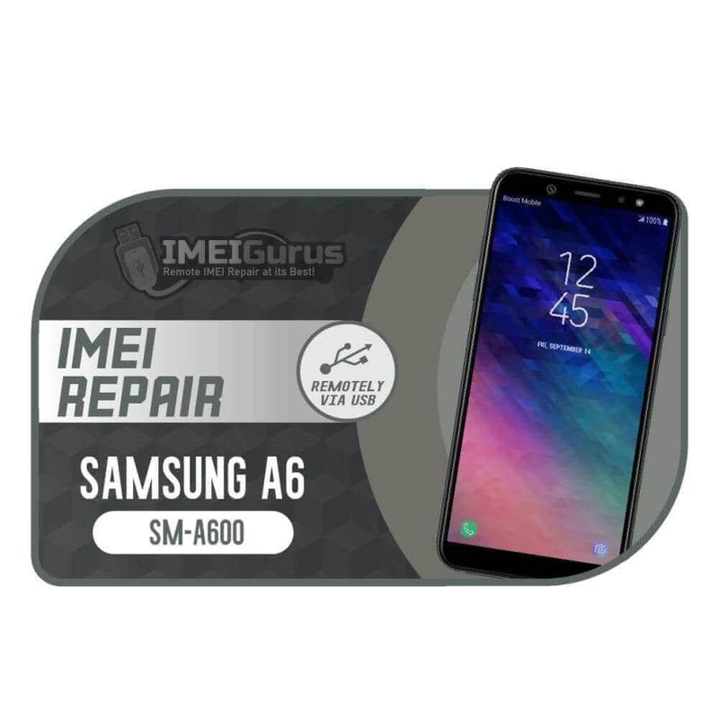 A6 A600 Samsung Instant Blacklisted Bad IMEI Repair
