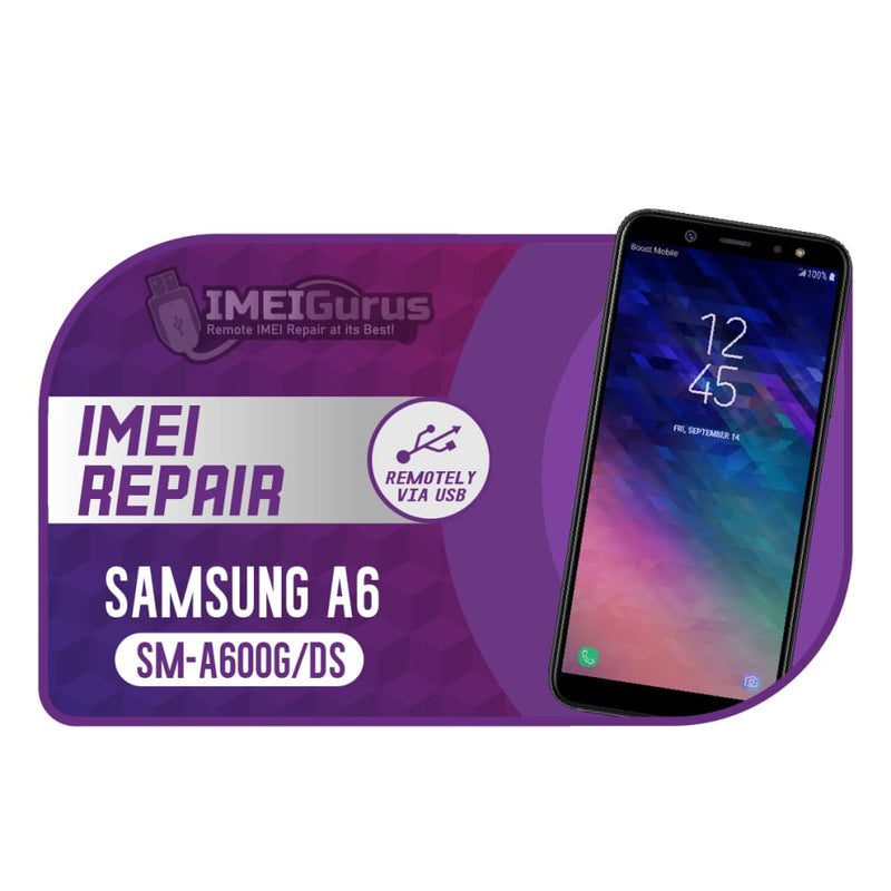 A6 A600g Samsung Instant Blacklisted Bad IMEI Repair