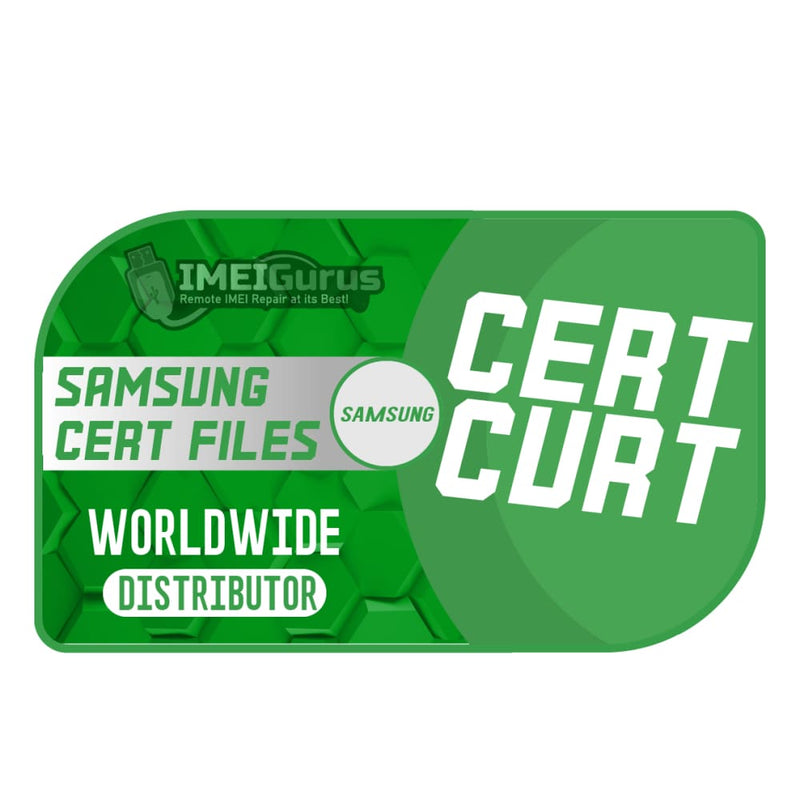Cert Files For IMEI Repair Blacklisted Bad