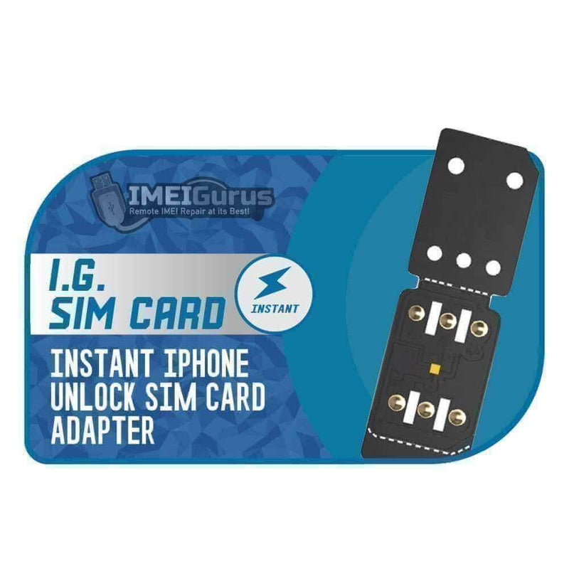 I.G. Classic Sim Card - Instant Iphone Unlock Adapter