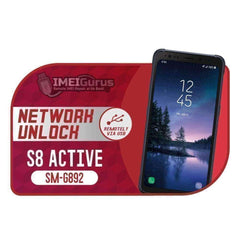 G892 S8 Active Samsung Instant USB Carrier Unlock