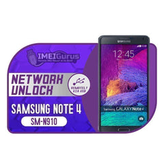 N910 Note 4 Samsung Instant USB Carrier Unlock