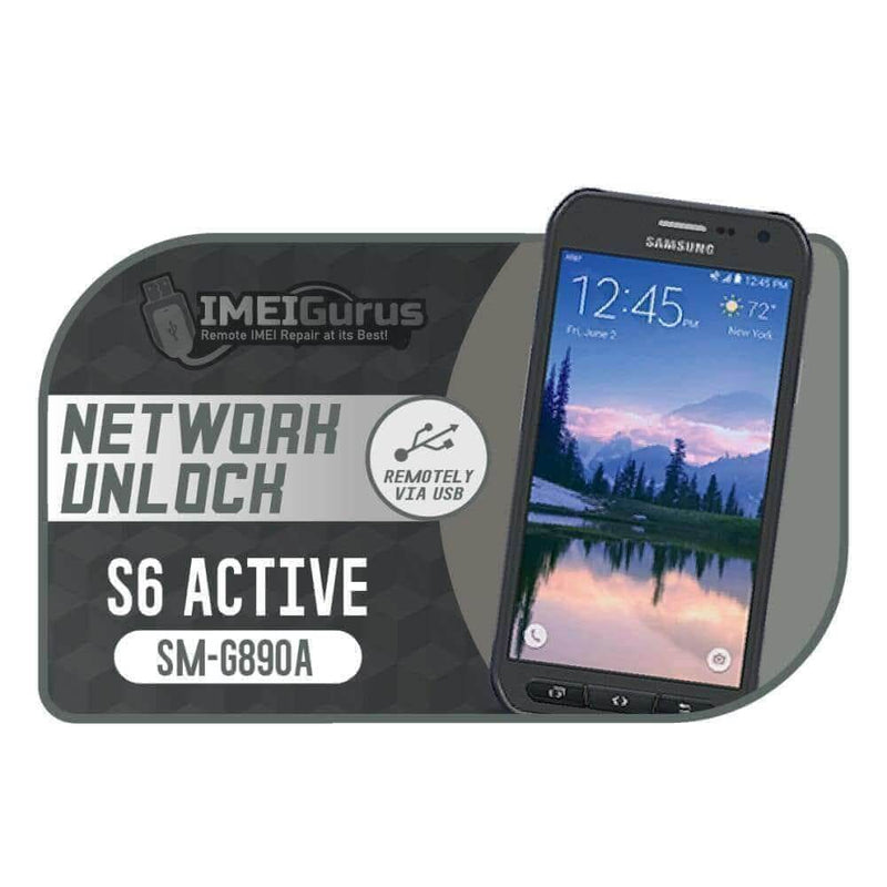 S6 Active G890a Samsung Instant USB Carrier Unlock AT&T