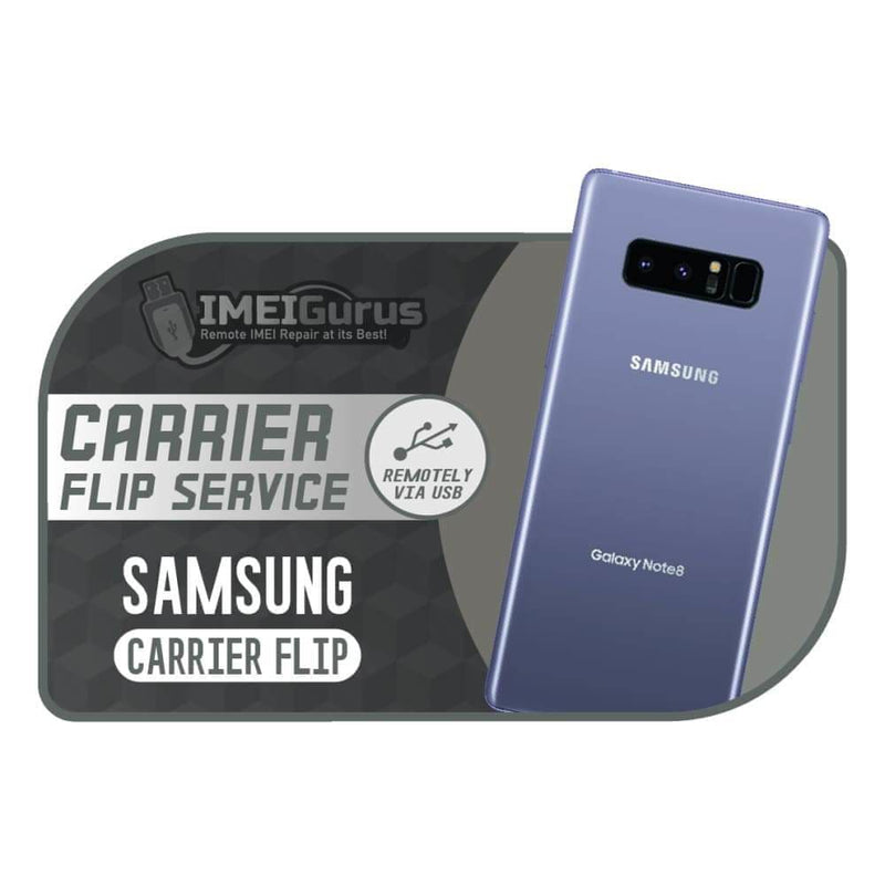 Samsung Remote Carrier Flip Service REMOTE