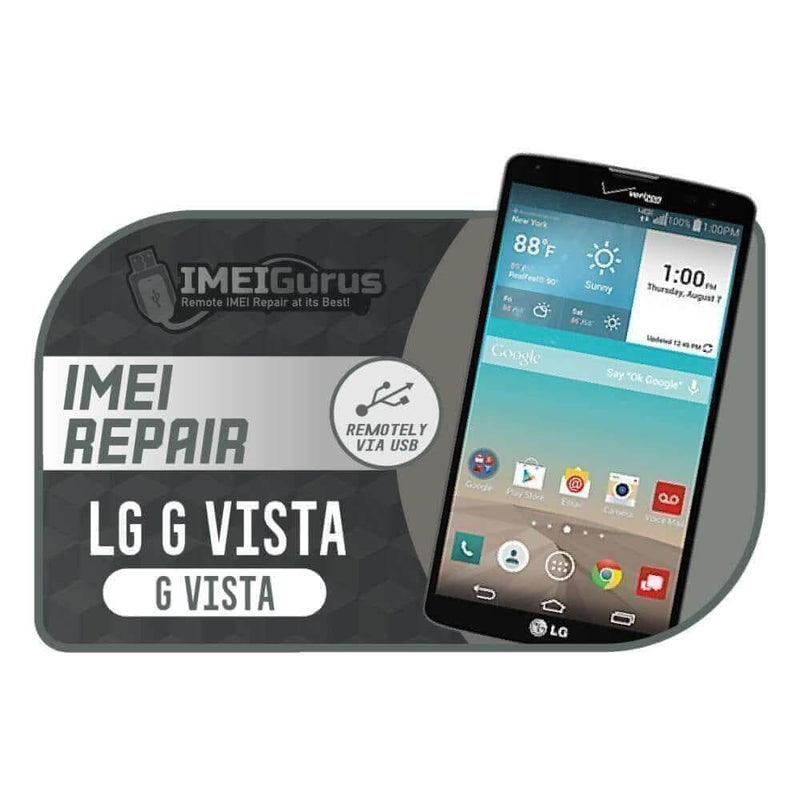 Vista LG Instant Blacklisted Bad IMEI Repair AT&T