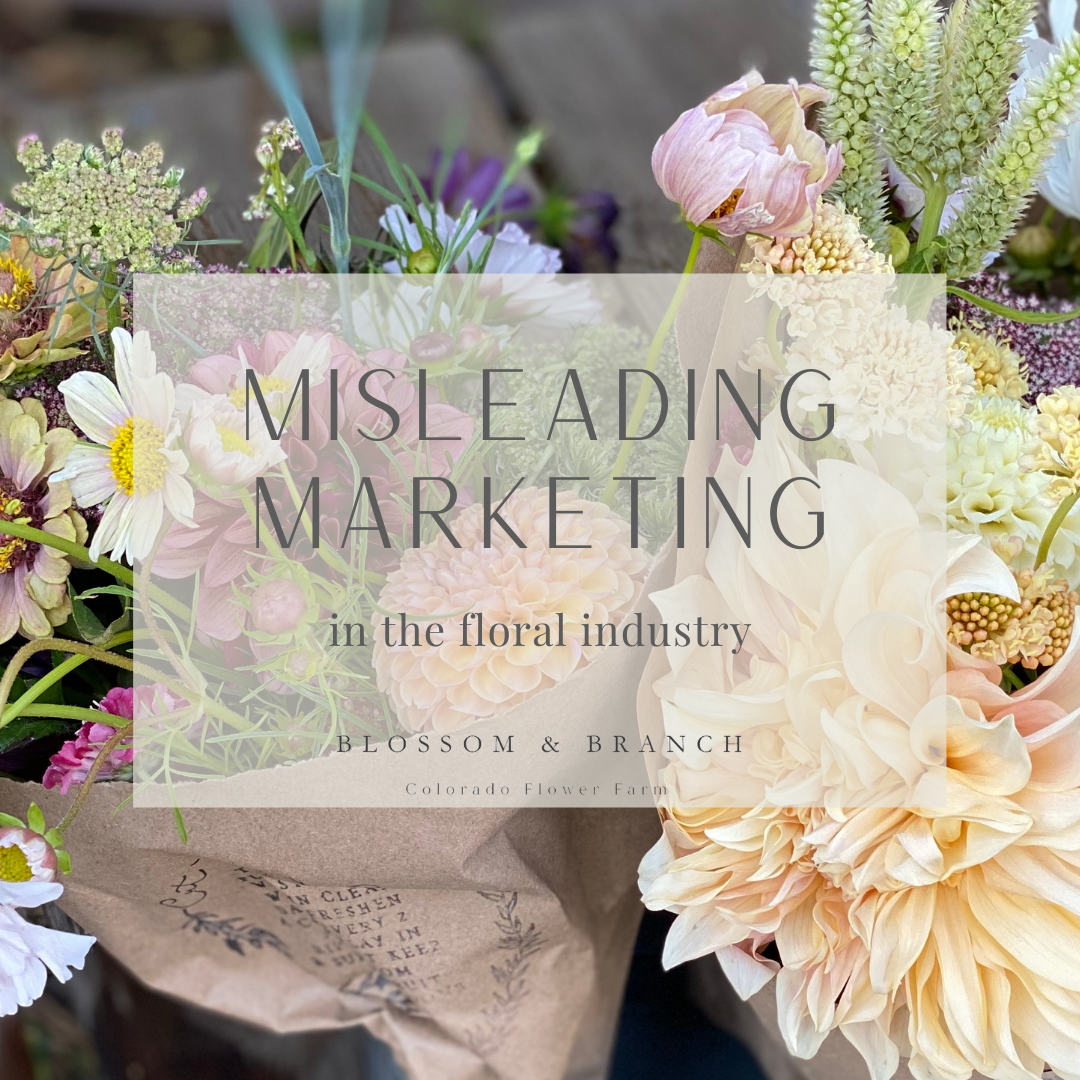 misleading marketing terms used to greenwash consumers in the floral industry