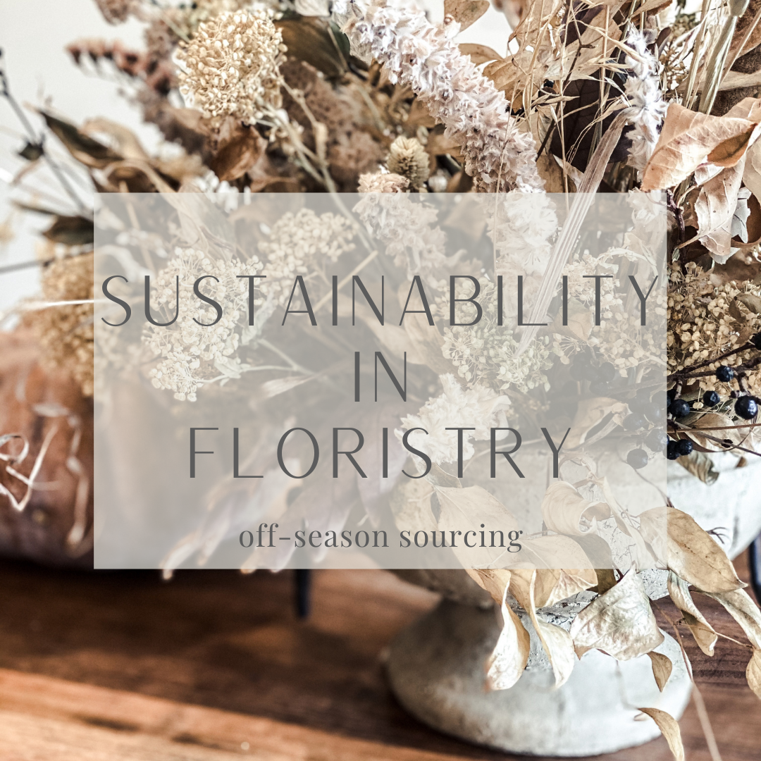 Sustainability in floristry and sourcing imported flowers