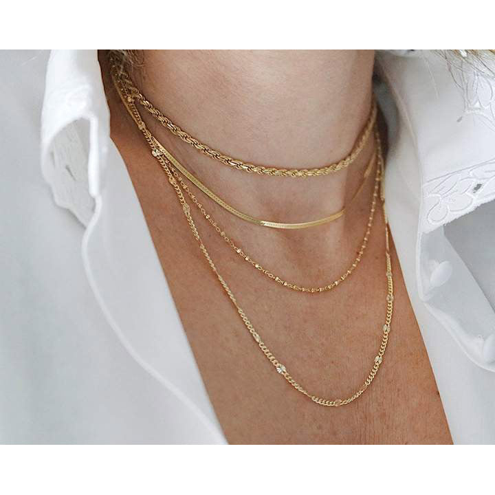 Chocker Paris Gold
