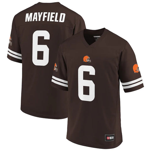Cleveland Browns Baker Mayfield Brown Spieler Trikot