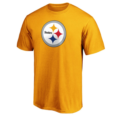 Pittsburgh Steelers Golden Logo T-Shirt