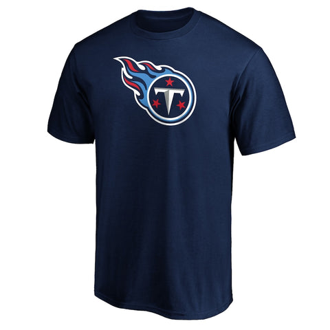 Tennessee Titans Navy Logo T-Shirt