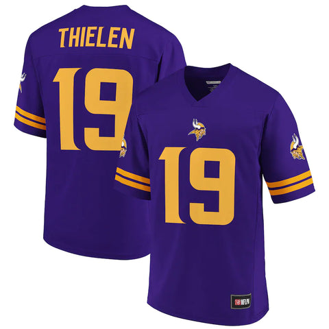 Minnesota Vikings Adam Thielen Purple Spieler Trikot