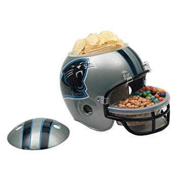 NFL Snack Helmet - Carolina Panthers