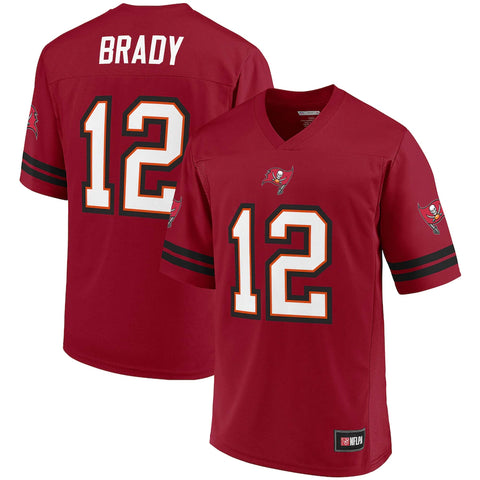 Tampa Bay Buccaneers Tom Brady Fanatics Branded Red Spieler Trikot