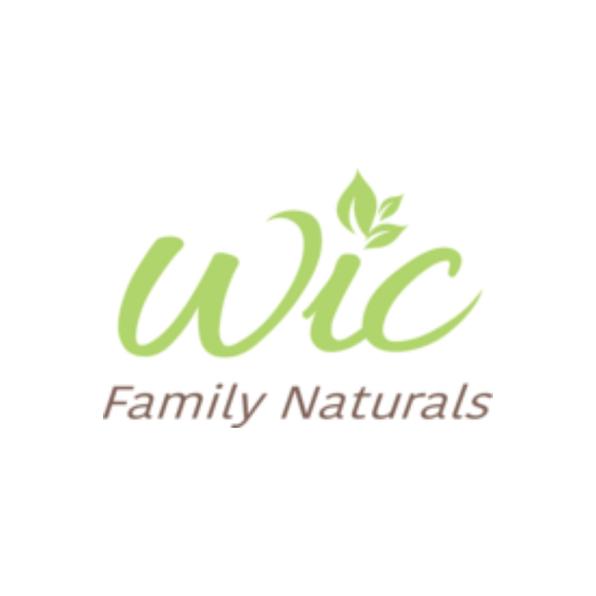 Wic Family Naturals Logo, Team Perfect