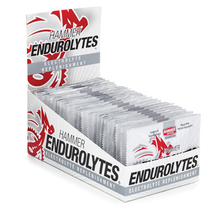 Hammer Nutrition - Endurolytes, Box of 24 (4 Packs), Team Perfect