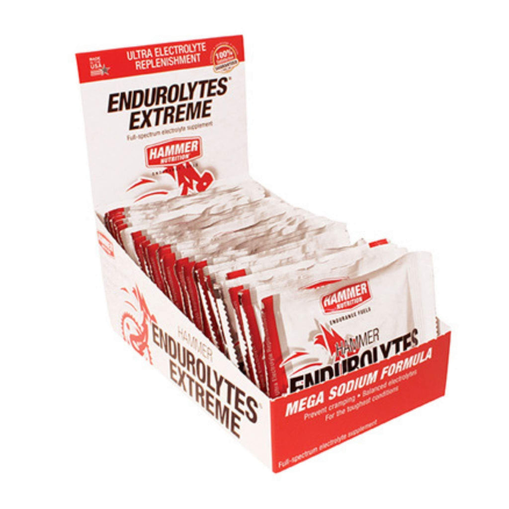 Hammer Nutrition - Endurolytes Extreme, Box of 24 (3 Packs), Team Perfect