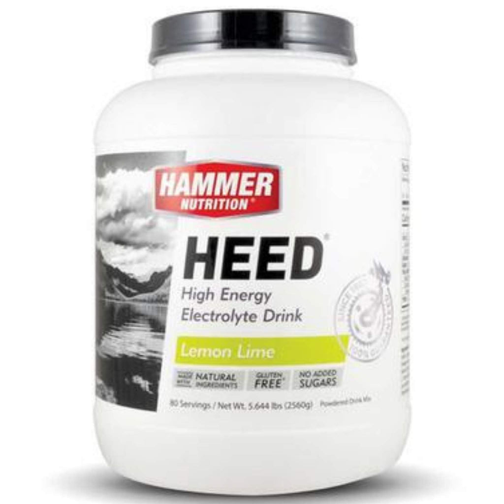 Hammer Nutrition - HEED, Lemon Lime, 80 Servings, Team Perfect