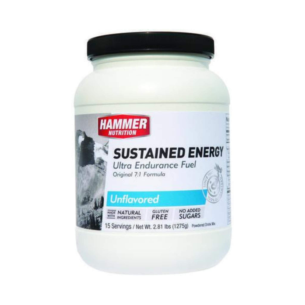 Hammer Nutrition - Sustained Energy, Unflavored, 15 Servings, Team Perfect