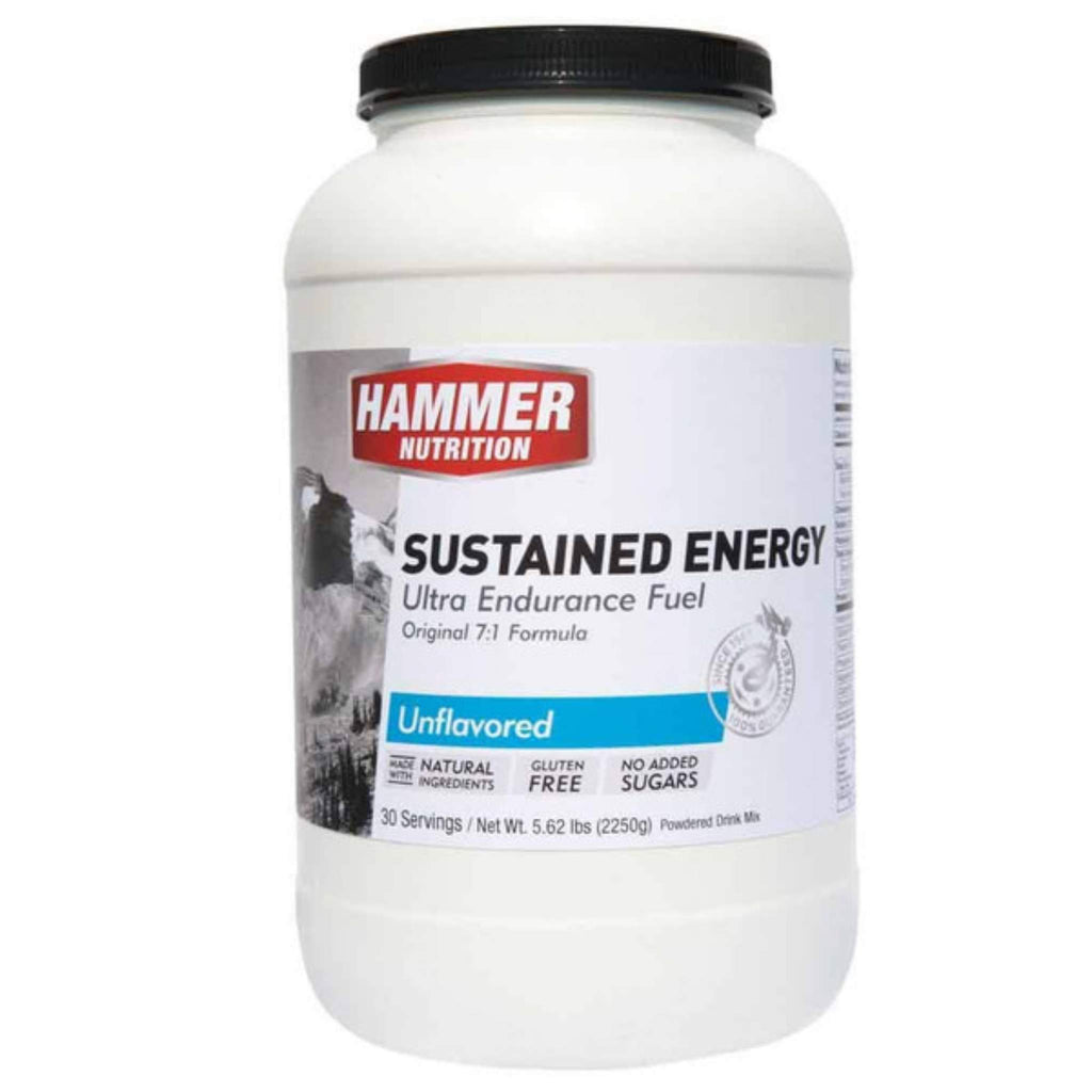 Hammer Nutrition - Sustained Energy, Unflavored, 30 Servings, Team Perfect