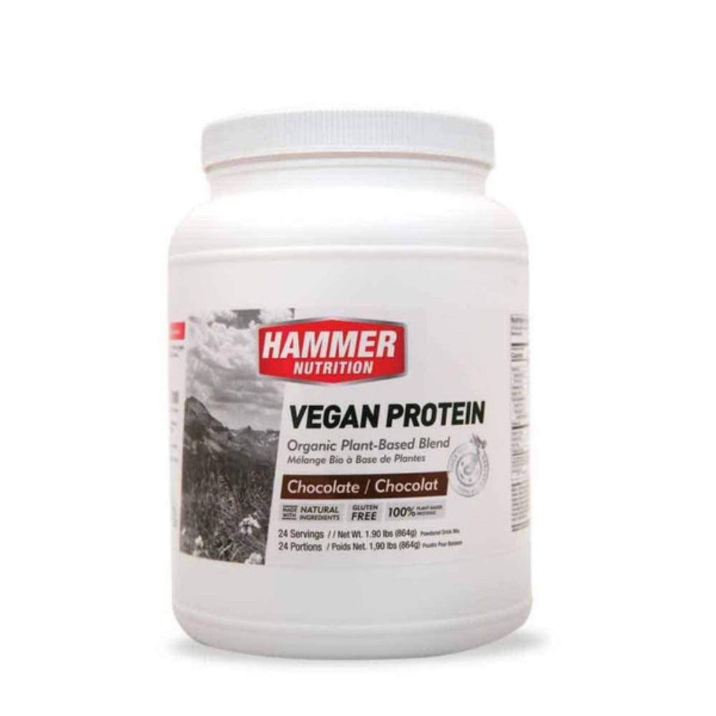 Hammer Nutrition - Vegan Protein, Chocolate, 24 Servings, Team Perfect