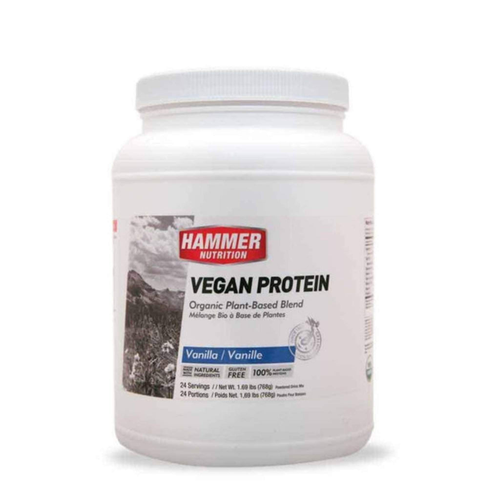 Hammer Nutrition - Vegan Protein, Vanilla, 24 Servings, Team Perfect
