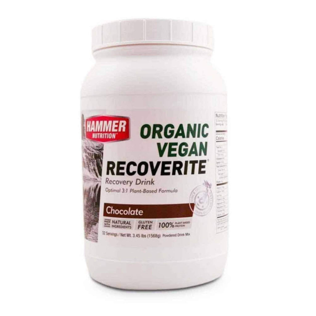 Hammer Nutrition - Vegan Recoverite, Chocolate, 32 Servings, Team Perfect