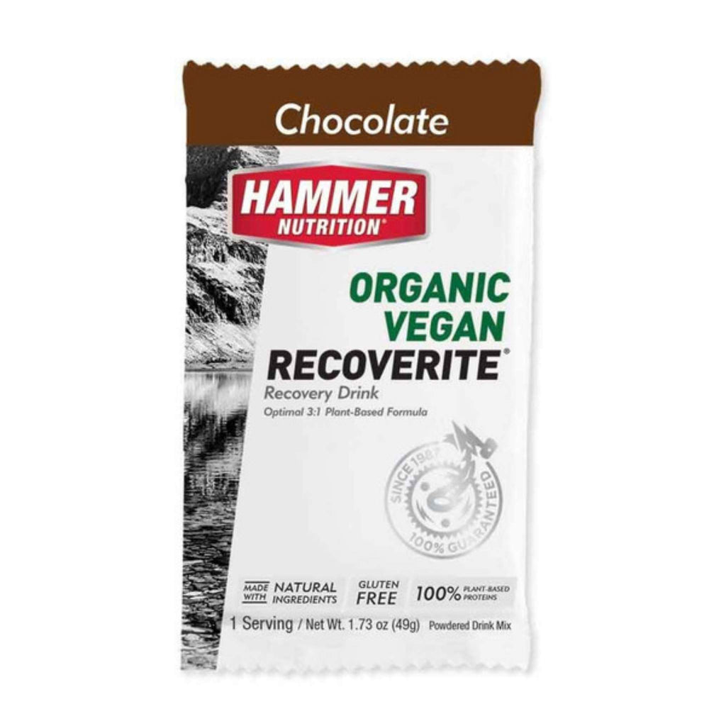 Hammer Nutrition - Vegan Recoverite, Chocolate, Single Serving, Team Perfect