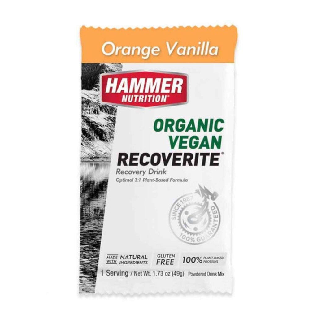 Hammer Nutrition - Vegan Recoverite, Orange Vanilla, Single Serving, Team Perfect