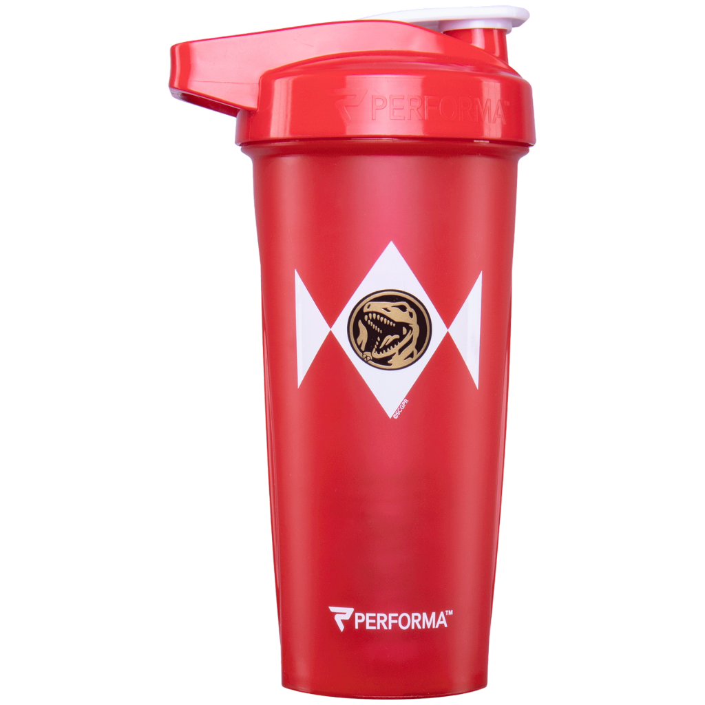 Performa - ACTIV Shaker Cup, 28oz, Red Power Ranger, Team Perfect