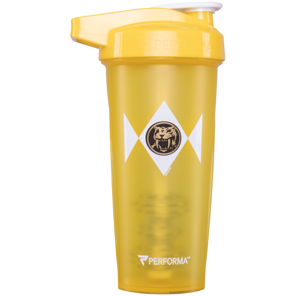 Performa - ACTIV Shaker Cup, 28oz, Yellow Power Ranger, Team Perfect