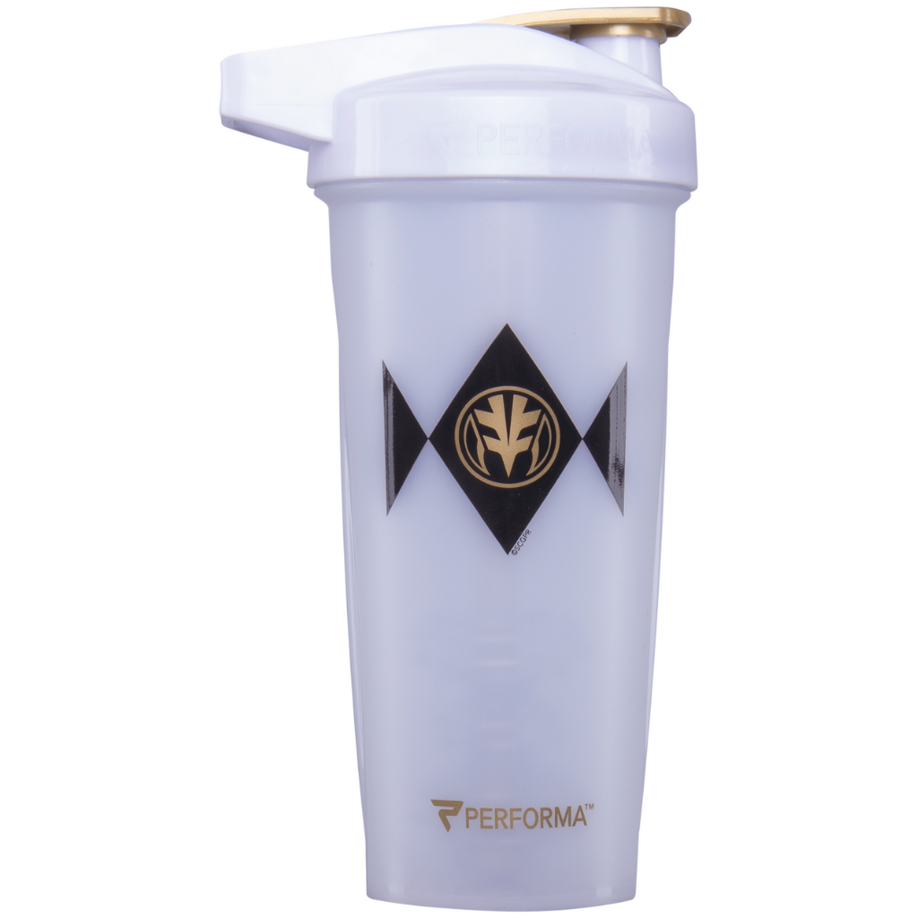 Performa - ACTIV Shaker Cup, 28oz, White Power Ranger, Team Perfect