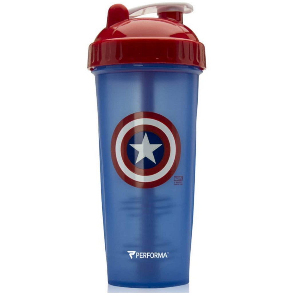 Performa - CLASSIC Shaker Cup, 28oz, Captain America, Team Perfect