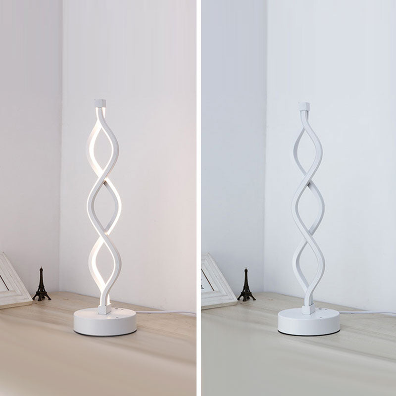Intertwining Modern LED Table Lamp