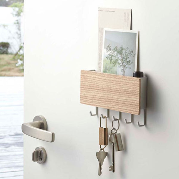Wooden Wall Shelf & Hanger