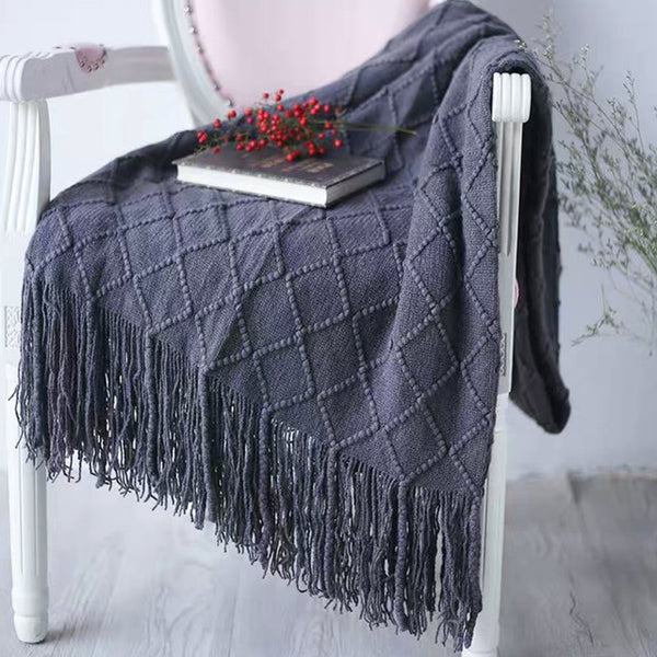 Diamond Ivy Throw Blanket