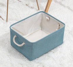 Folding Linen Storage Basket