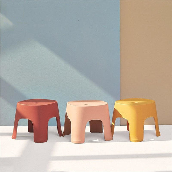 Non-slip Multicolor Step/Shoe Stool