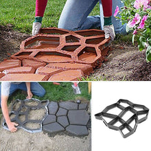 Load image into Gallery viewer, 2020 new Floor Path Maker Mould Concrete Mold Reusable DIY Paving Durable Plastic Making for Home Garden Lawn